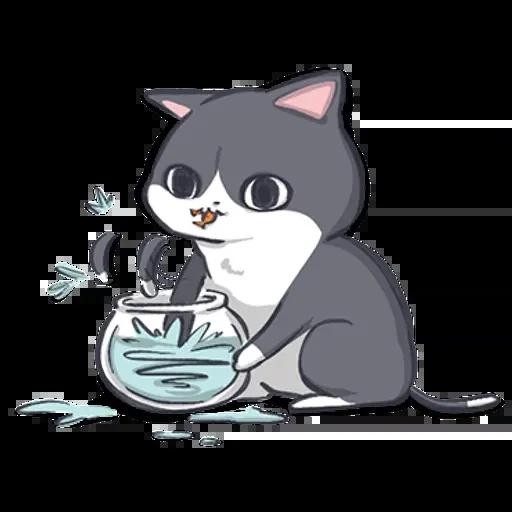廢貓阿米2 - Sticker 5