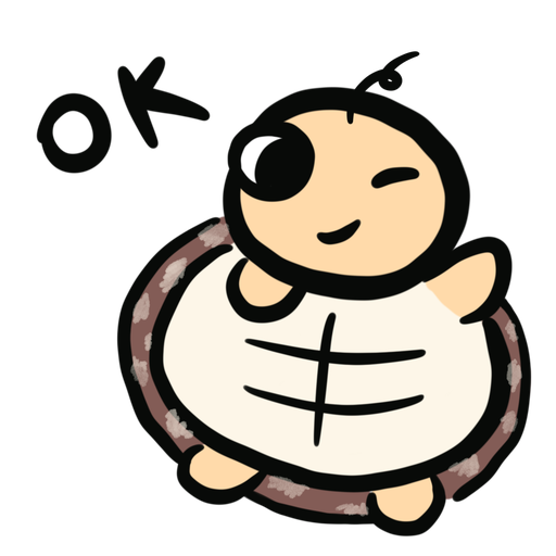 Momo the turtle 2 - Sticker 6