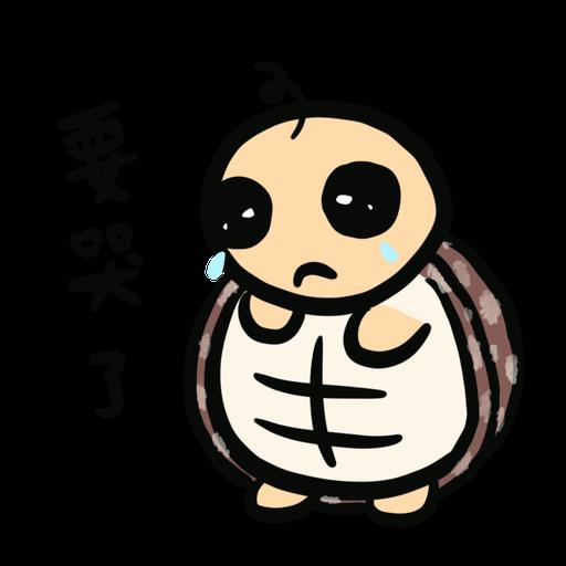 Momo the turtle 2 - Sticker 4