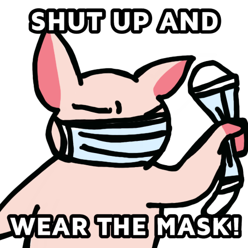 抗爭吉祥物Memes(抗疫版) - Sticker 1
