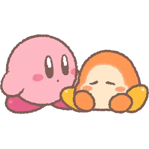 Kirby_simple - Sticker 10