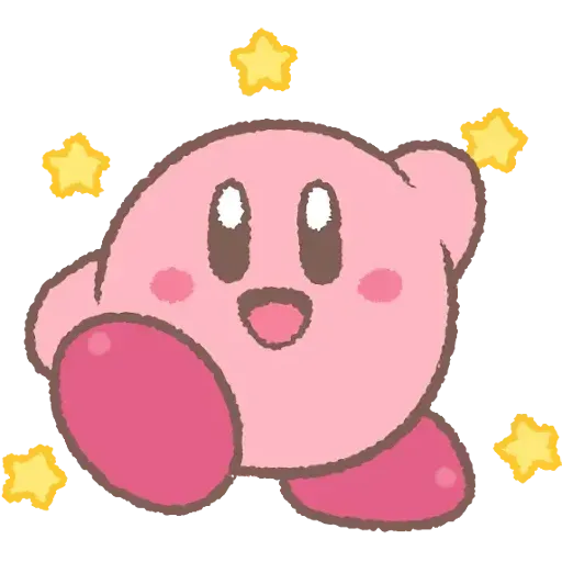 Kirby_simple - Sticker 5