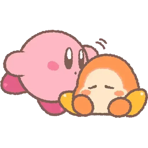 Kirby_simple - Sticker 11