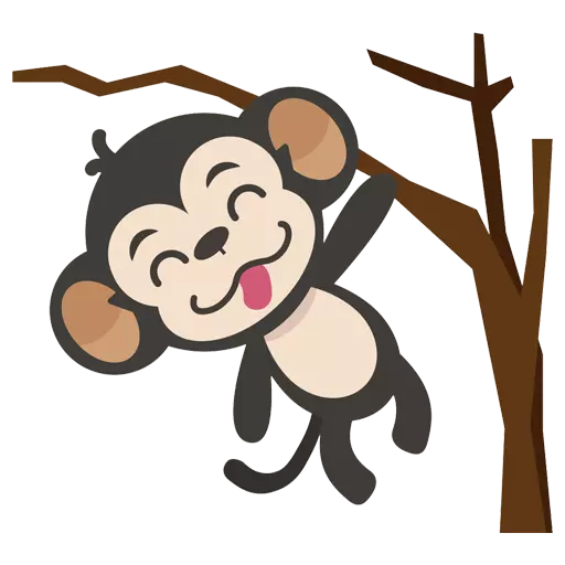 MONKEY MONKEY  - Sticker 3
