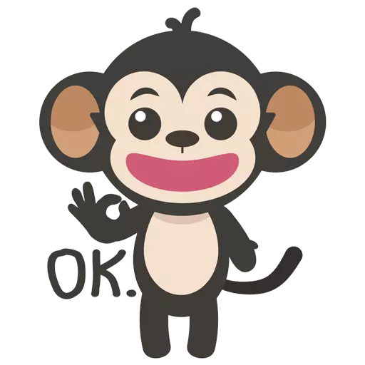 MONKEY MONKEY  - Sticker 5
