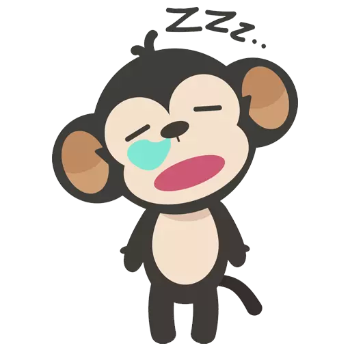 MONKEY MONKEY  - Sticker 1