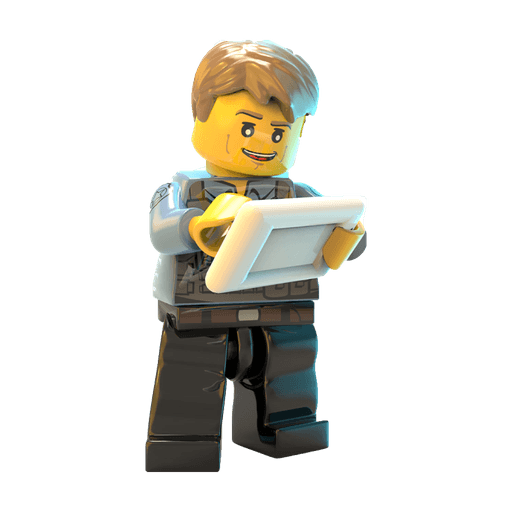 Lego guy - Sticker 4