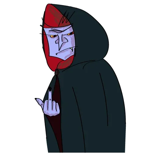 Count Dracula - Sticker 3