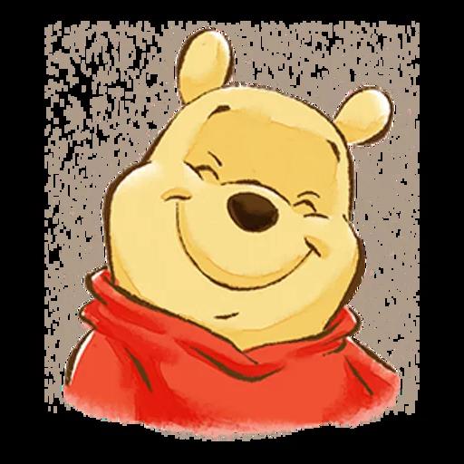 志華bb最愛pooh pooh2.0 - Sticker 3