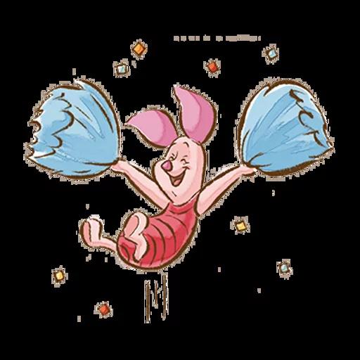 志華bb最愛pooh pooh2.0 - Sticker 4