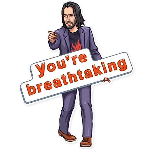 Keanu Reeves - Sticker 13