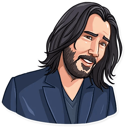 Keanu Reeves - Sticker 10
