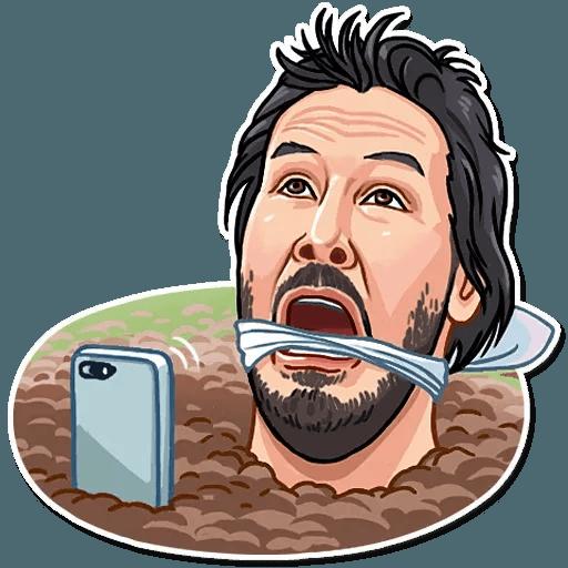 Keanu Reeves - Sticker 21