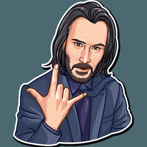 Keanu Reeves - Sticker 20