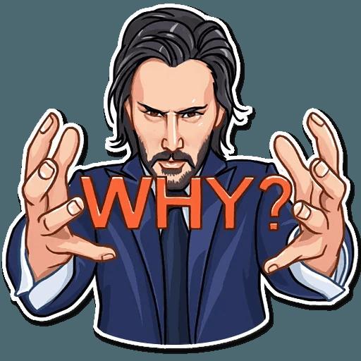 Keanu Reeves - Sticker 17