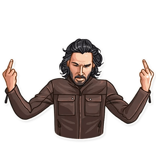 Keanu Reeves - Sticker 7