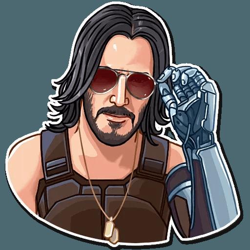 Keanu Reeves - Sticker 6