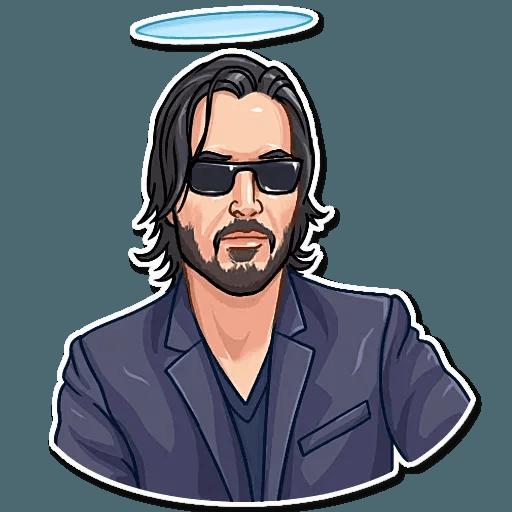 Keanu Reeves - Sticker 12