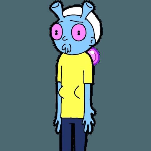 Pocket Morty 2 - Sticker 3