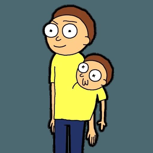 Pocket Morty 2 - Sticker 17