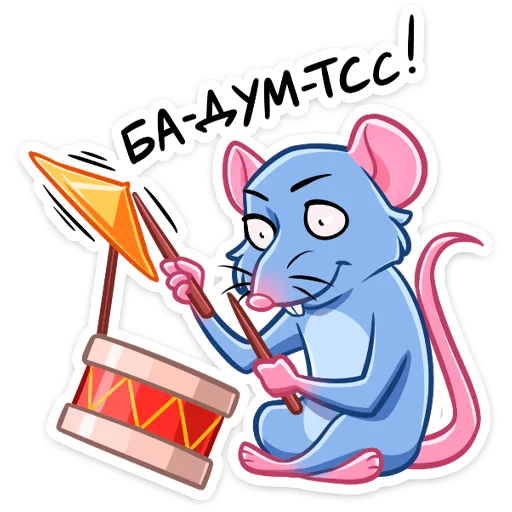 Mr.Rat - Sticker 17