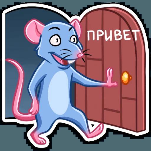 Mr.Rat - Sticker 26
