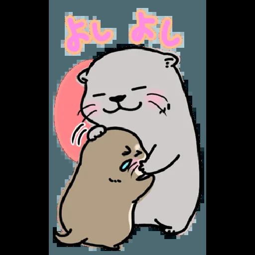 Otter's otter big sticker - Sticker 18