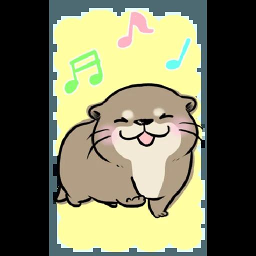 Otter's otter big sticker - Sticker 15
