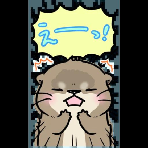 Otter's otter big sticker - Sticker 26