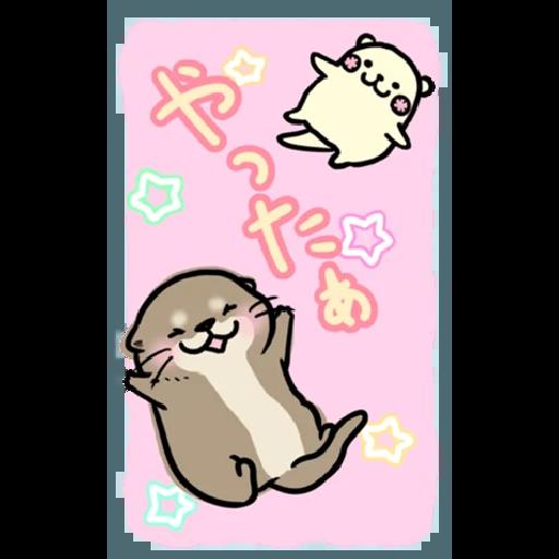 Otter's otter big sticker - Sticker 14