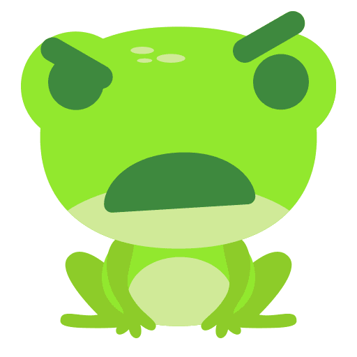 The Funniest Baby Frog - Sticker 3