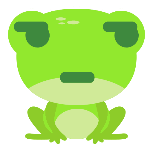 The Funniest Baby Frog - Sticker 19
