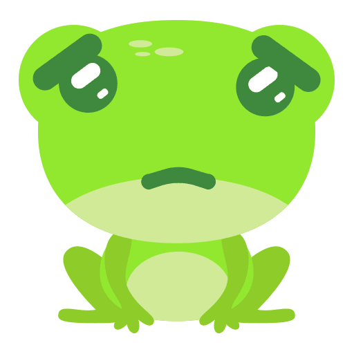 The Funniest Baby Frog - Sticker 8