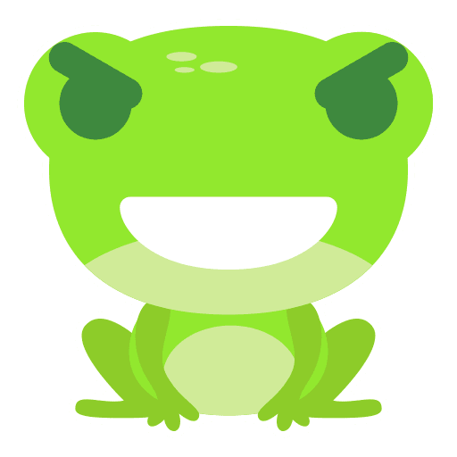 The Funniest Baby Frog - Sticker 4