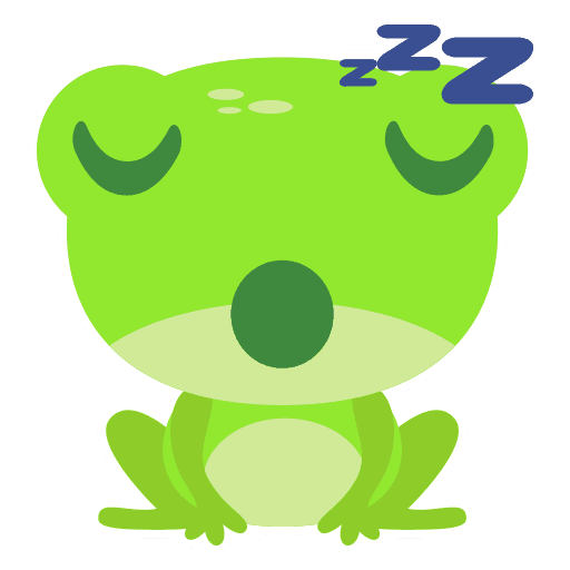 The Funniest Baby Frog - Sticker 13