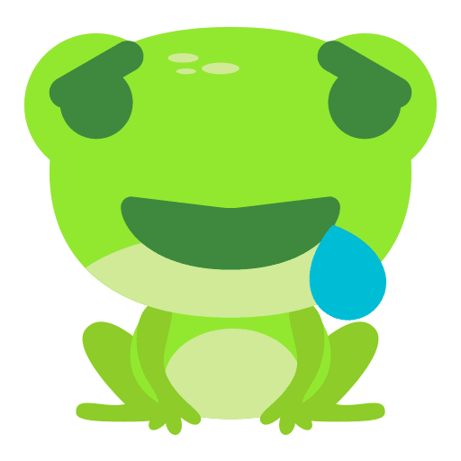 The Funniest Baby Frog - Sticker 14