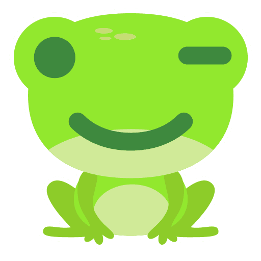 The Funniest Baby Frog - Sticker 12