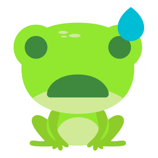 The Funniest Baby Frog - Sticker 18