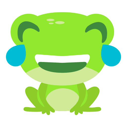 The Funniest Baby Frog - Sticker 7