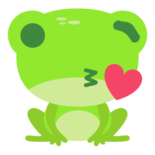 The Funniest Baby Frog - Sticker 6
