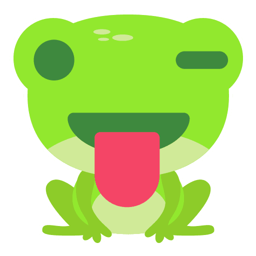 The Funniest Baby Frog - Sticker 16