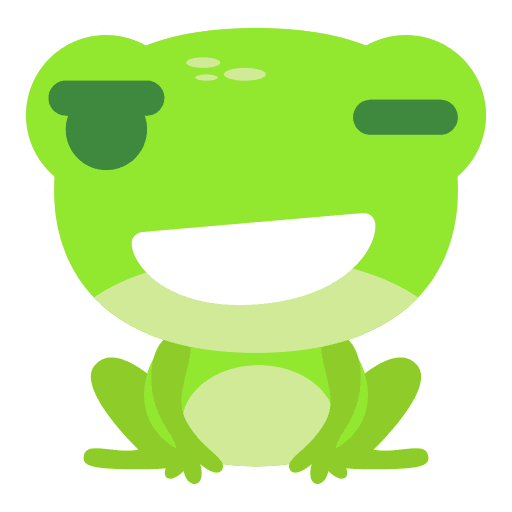The Funniest Baby Frog - Sticker 20