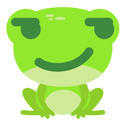 The Funniest Baby Frog - Sticker 15