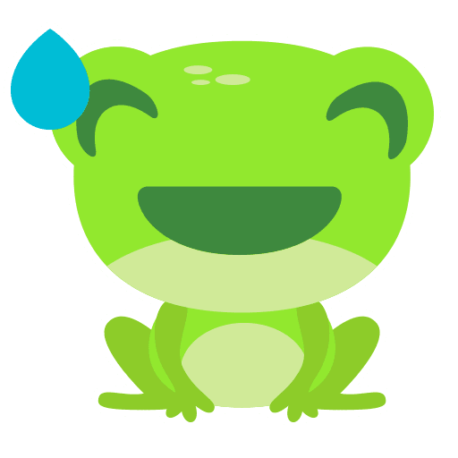 The Funniest Baby Frog - Sticker 11