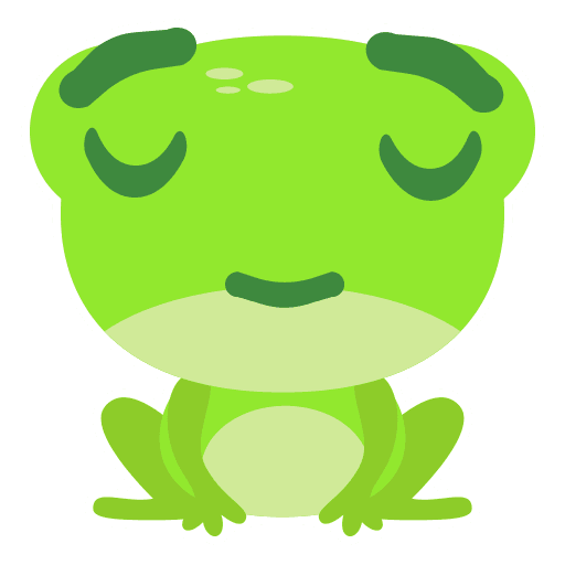 The Funniest Baby Frog - Sticker 9