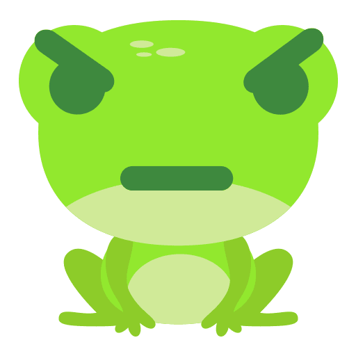 The Funniest Baby Frog - Sticker 2