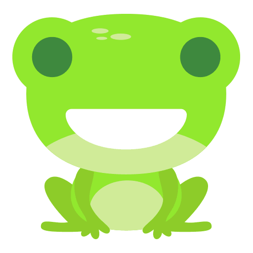 The Funniest Baby Frog - Sticker 1
