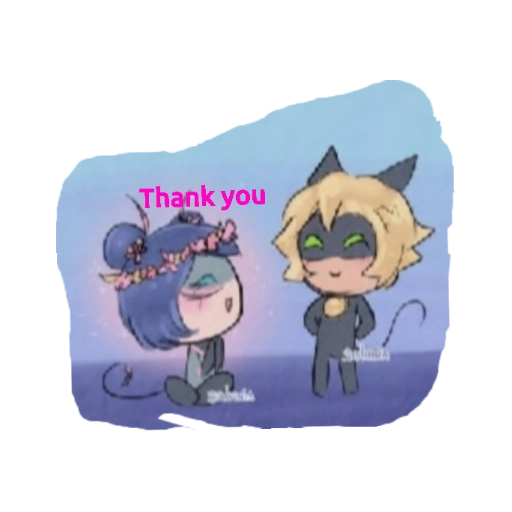 Miraculous:Tales of Ladybug and Cat Noir - Tray Sticker