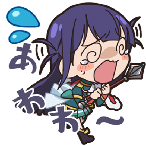 Revue Starlight test - Sticker 30