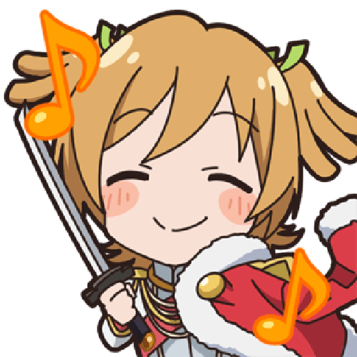 Revue Starlight test - Sticker 8